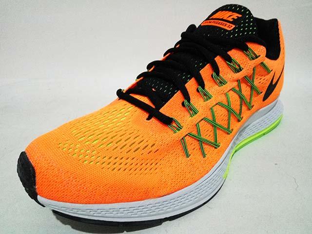 finest selection 1236d 5a3f1 Sepatu Running Nike Air Zoom Pegasus 32 Mens 749340 803 Orange Black Vital  Green Harga Rp. 1.599.000 Rp. 575.000. Tersedia  - 2 Pasang Ukuran 42,5