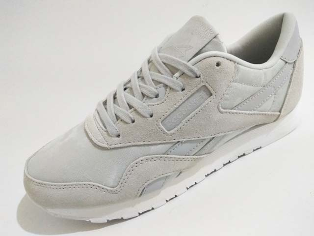 1129587a7e9 Sepatu Reebok Classic CL Nylon Women BS7758 HS Skull Grey White Harga  Rp.  899.000 Rp. 295.000. Tersedia   - 1 Pasang Ukuran 38