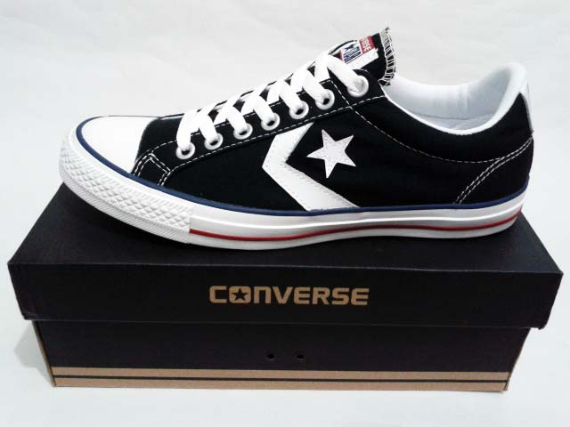 Sepatu Converse Star Player EV Ox Black White