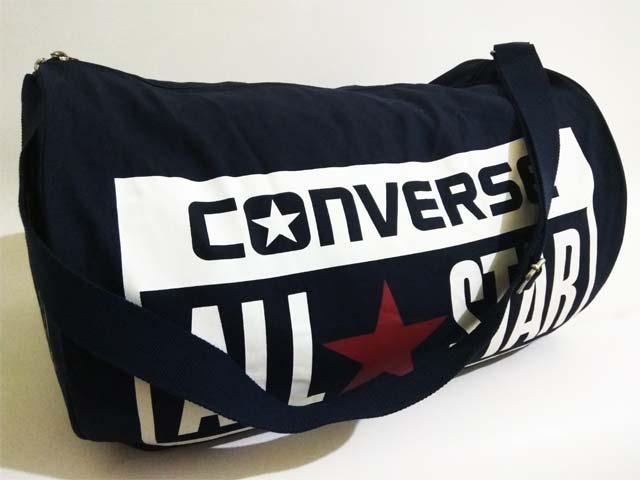 3370732372f Teambag Converse Legacy Barrel Duffel Bag 10422C003 Navy Harga: Rp. 499.000  Rp. 195.000. Tersedia Hanya 1 Pieces Ukuran : 50cm X 33cm X 33cm