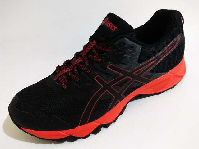 Sepatu Trail Running Asics Gel-Sonoma 3 T724N 9023 Black Fiery Red Black  Rp. 1.299.000 Rp. 635.000. Tersedia   - 3 Pasang Ukuran 42 - 1 Pasang  Ukuran 42.5 6ac296ef06