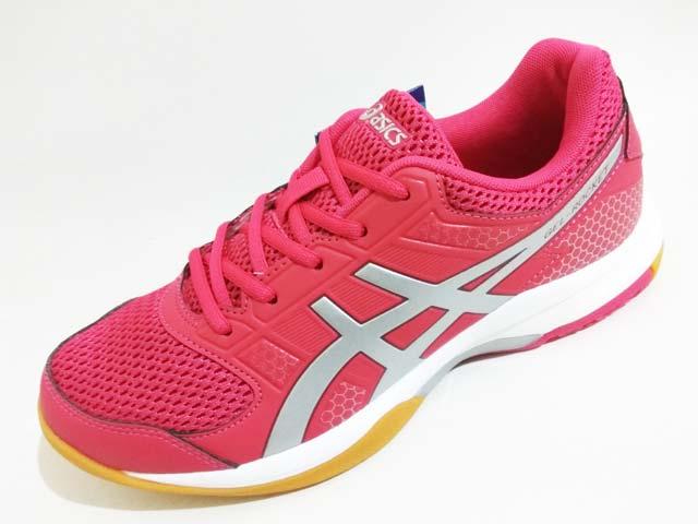 Sepatu Badminton   Voli Asics Gel-Rocket 8 Women B756Y 2193 Bright Rose  Silver Burgundy Rp. 899.000 Rp. 335.000. Tersedia   - 1 Pasang Ukuran 39.5 78159f8972
